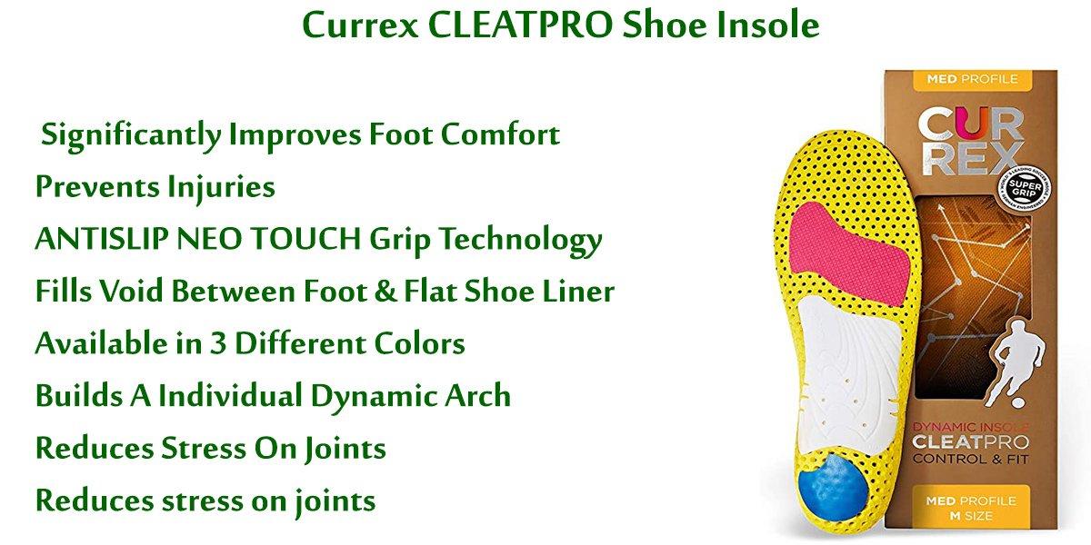 Currex-CLEATPRO-Shoe-Insole