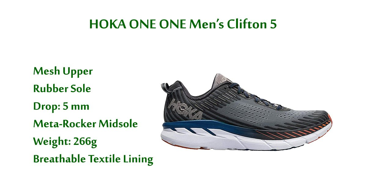 HOKA-ONE-ONE-Men's-Clifton-5