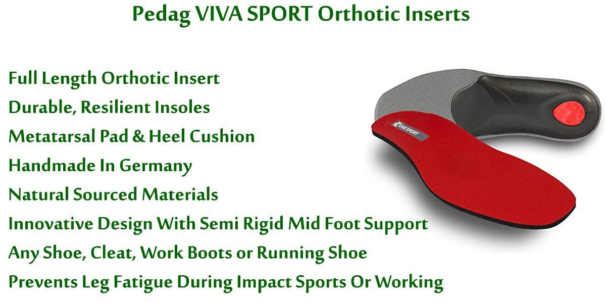 Pedag-VIVA-SPORT-Orthotic-Inserts