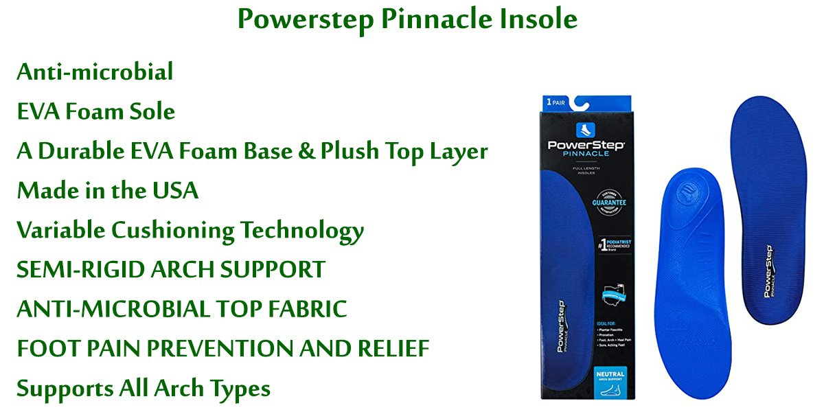 Powerstep-Pinnacle-Insole