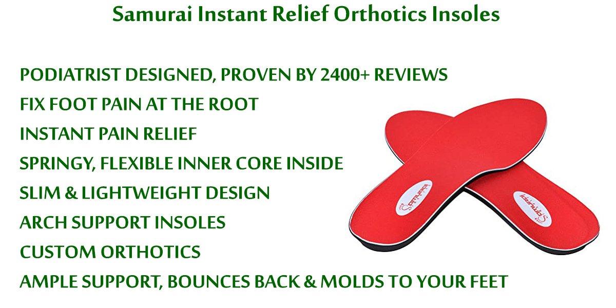 Samurai-Instant-Relief-Orthotics-Insoles