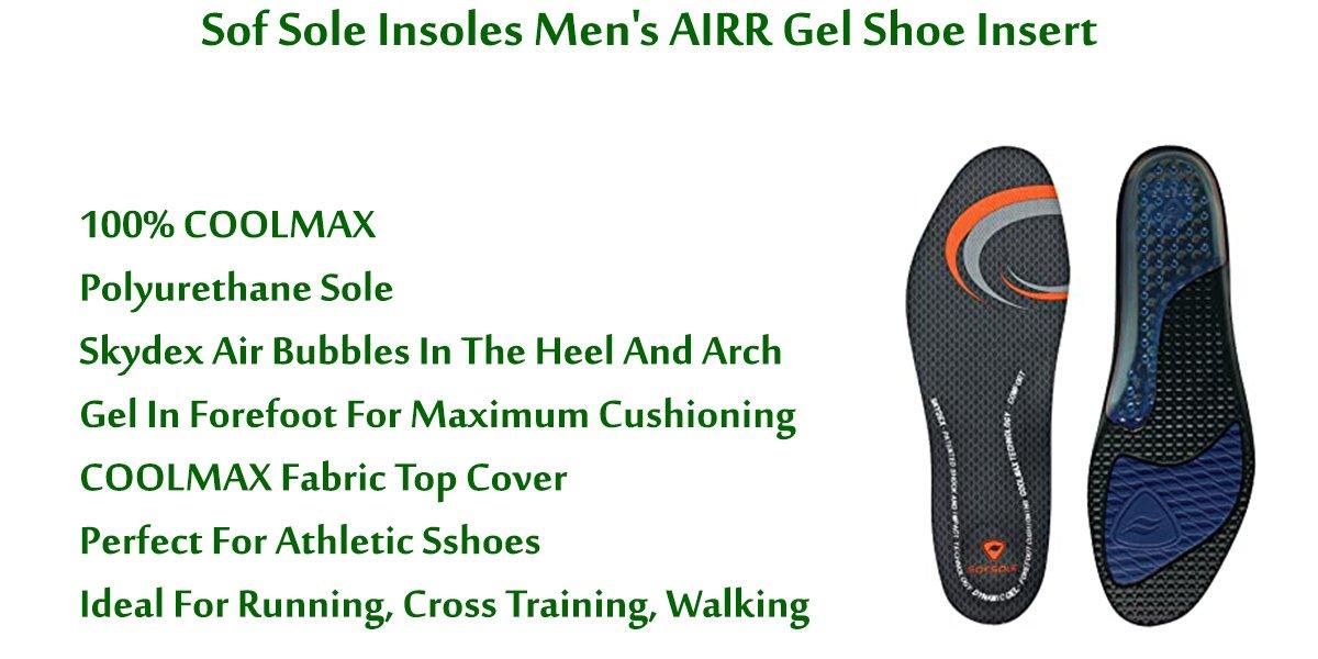 Sof-Sole-Insoles-Men's-AIRR-Gel-Shoe-Insert