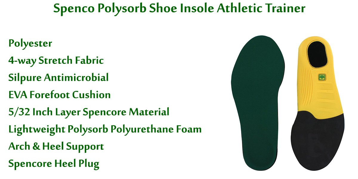 Spenco-Polysorb-Shoe-Insole-Athletic-Trainer