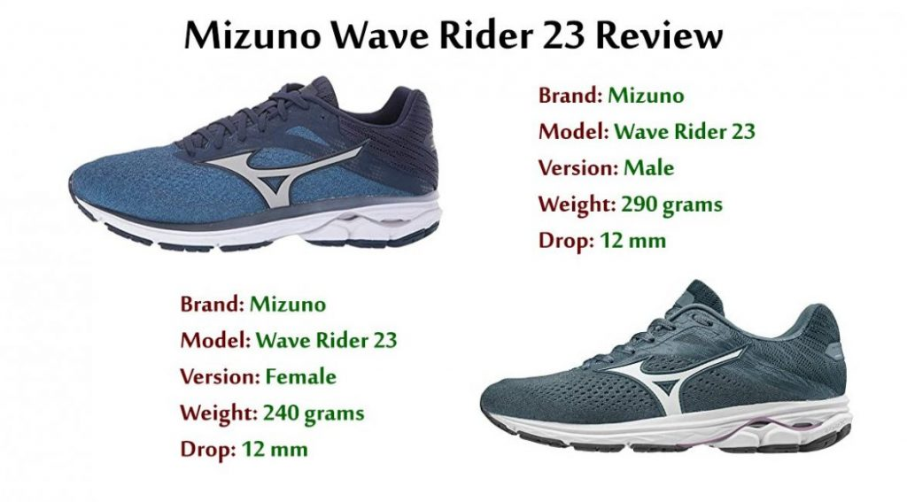 Mizuno Wave Rider 23 Review