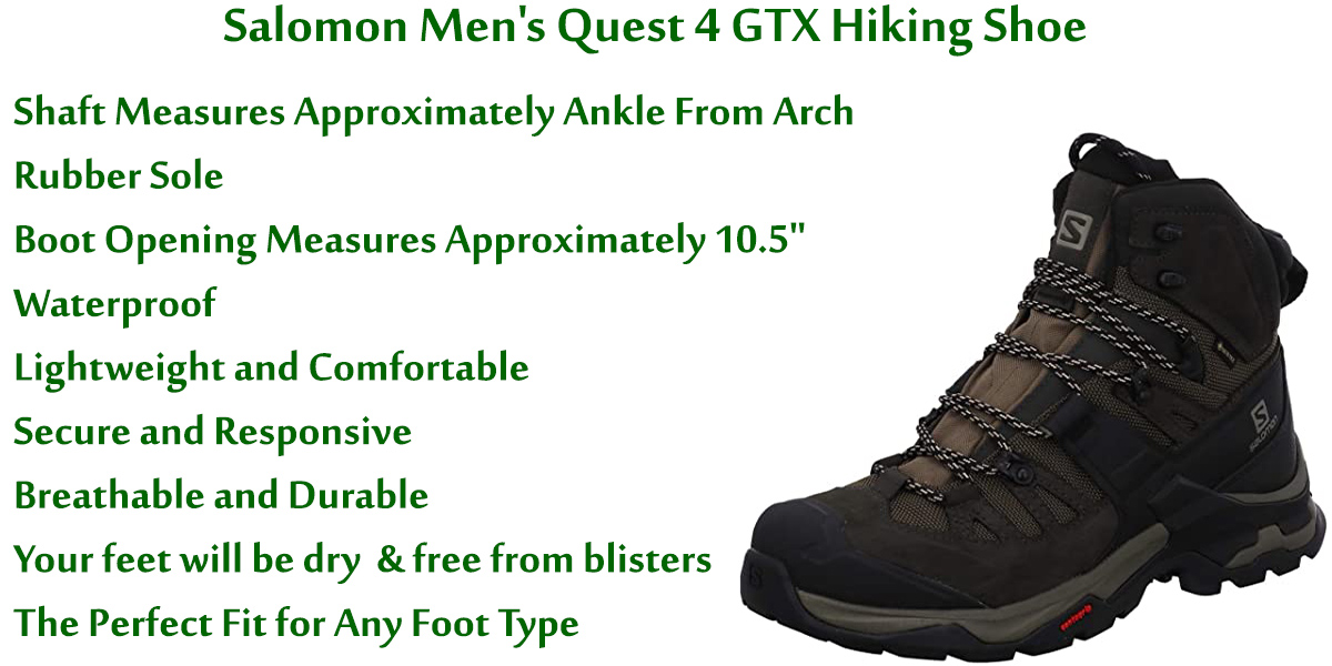 Salomon-Men's-Quest-4-GTX-Hiking-Shoe