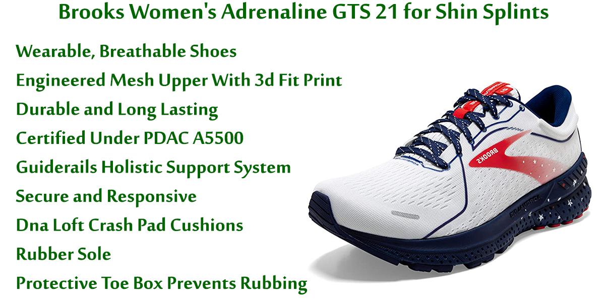 Brooks-Women's-Adrenaline-GTS-21-for-Shin-Splints