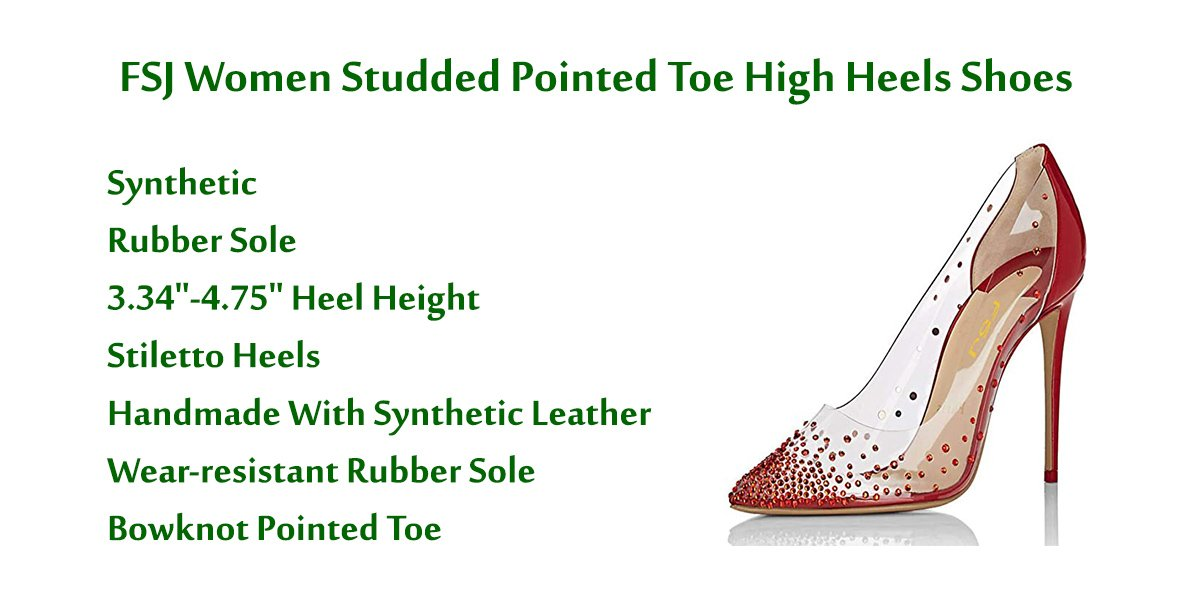 FSJ-Women-Studded-Pointed-Toe-High-Heels-Shoes