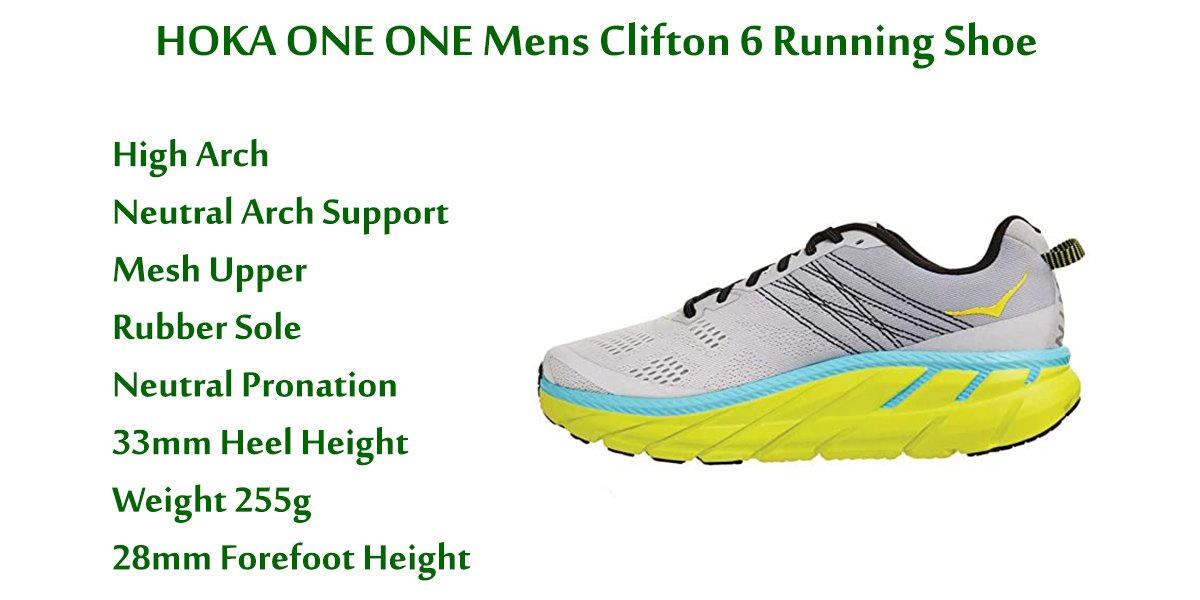 HOKA-ONE-ONE-Mens-Clifton-6-Running-Shoe