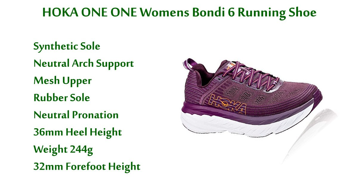 HOKA-ONE-ONE-Women's-Bondi-6-Running-Shoe