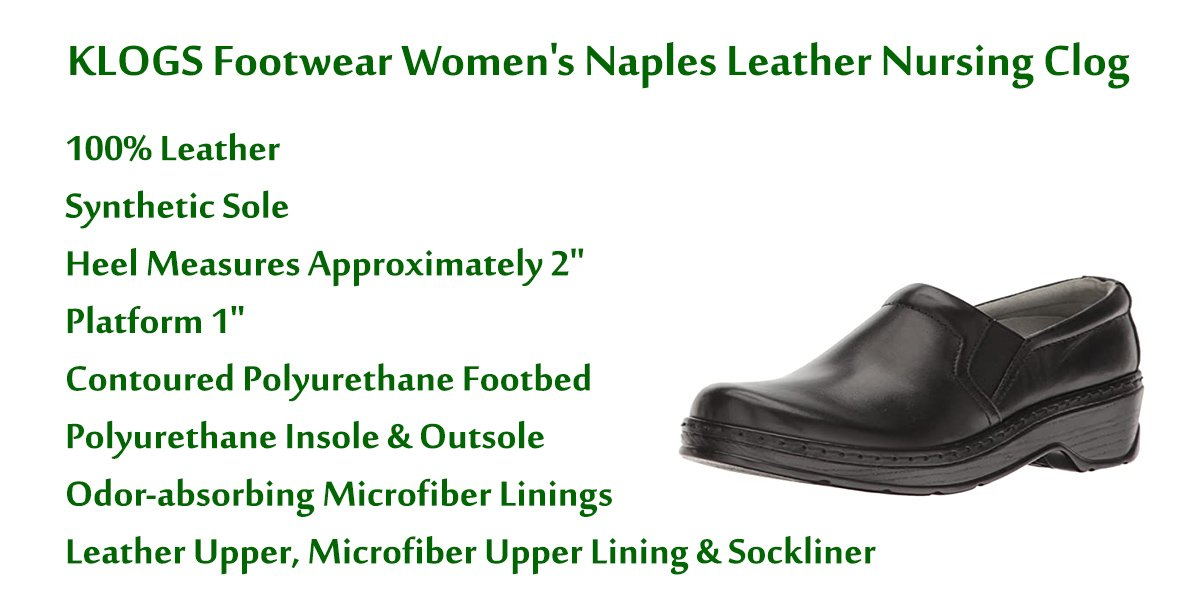 KLOGS-Footwear-Women's-Naples-Leather-Closed-Back-Nursing-Clog