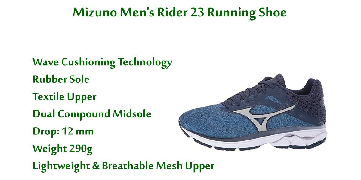 Mizuno-Men's-Rider-23-Running-Shoe