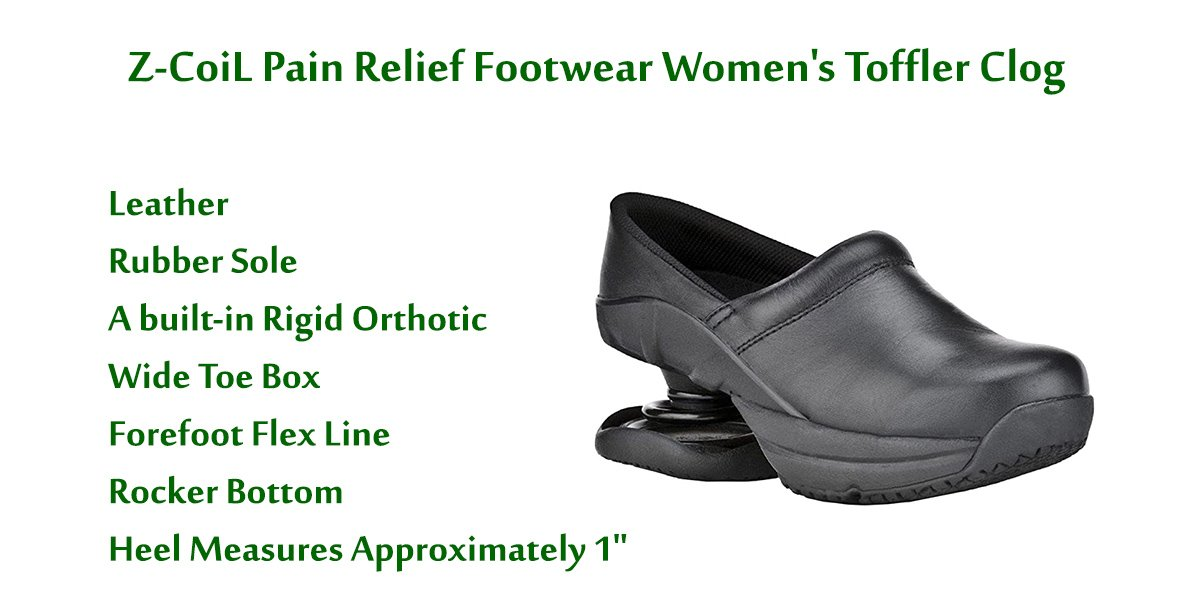Z-CoiL-Pain-Relief-Footwear-Women's-Toffler-Clog