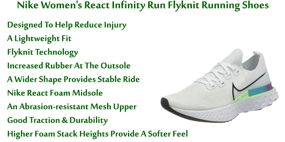 Nike-Women's-React-Infinity-Run-Flyknit-Running-Shoes