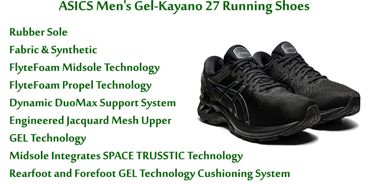 ASICS-Men's-Gel-Kayano-27-Running-Shoes