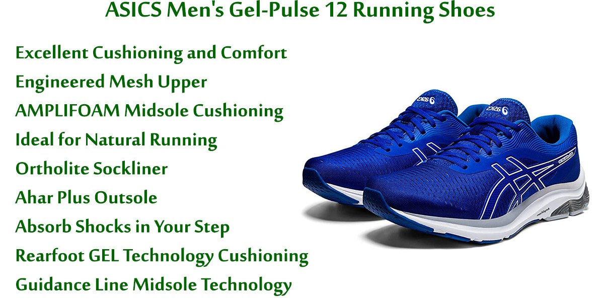 ASICS Men's Gel-Pulse 12 Running Shoes