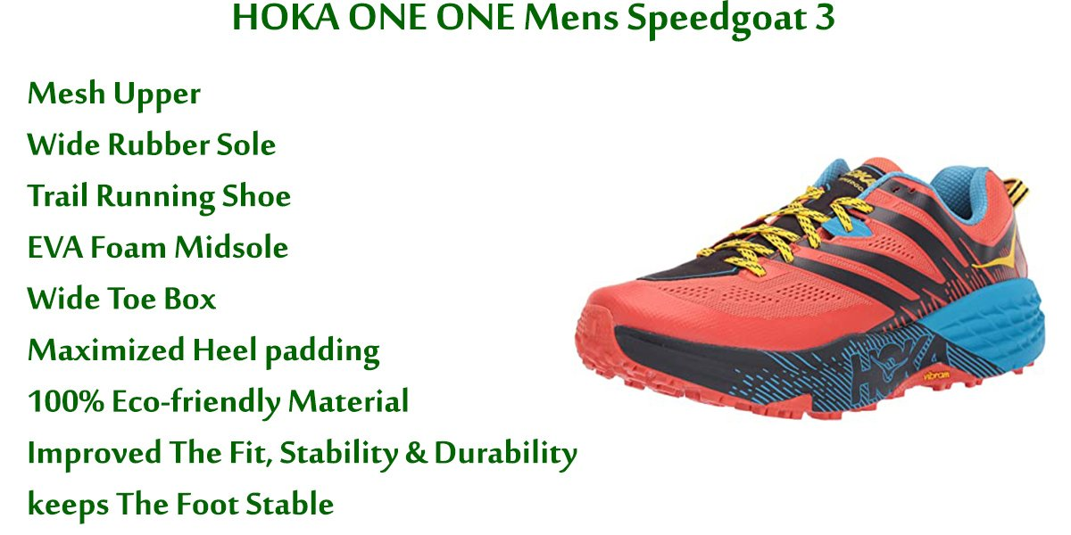HOKA ONE ONE Mens Speedgoat 3