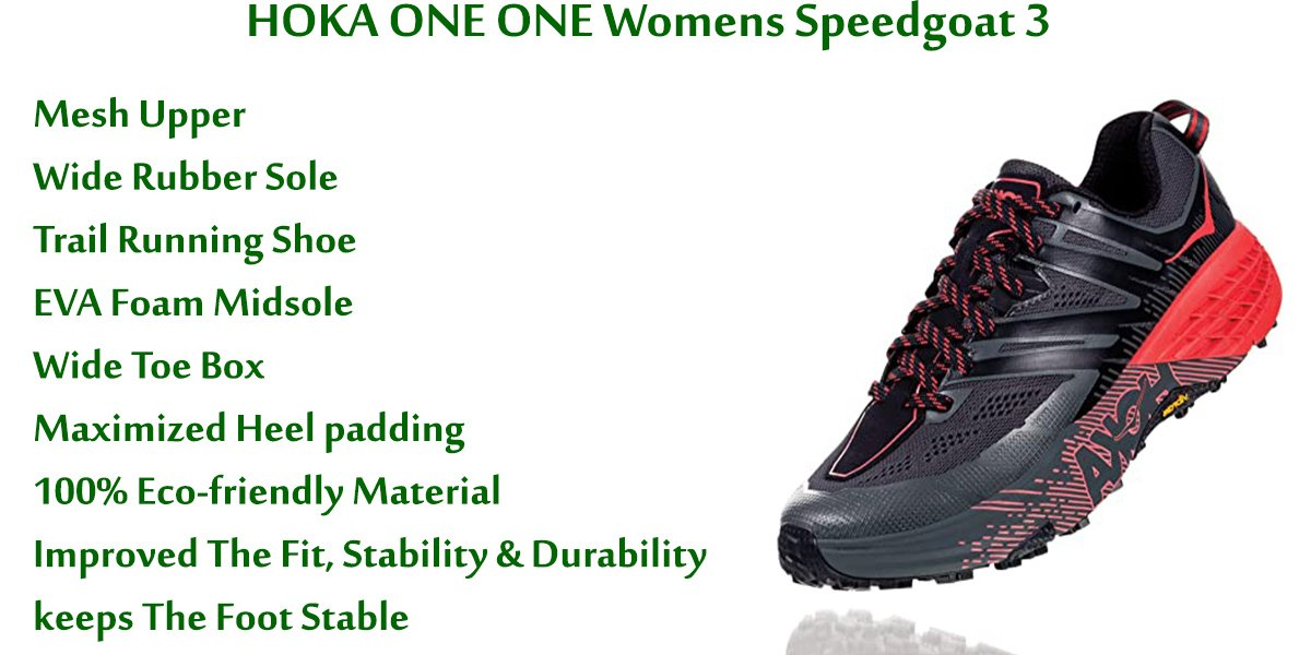 HOKA ONE ONE Womens Speedgoat 3