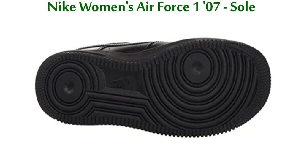 Nike-Women's-Air-Force-1-'07-Sole
