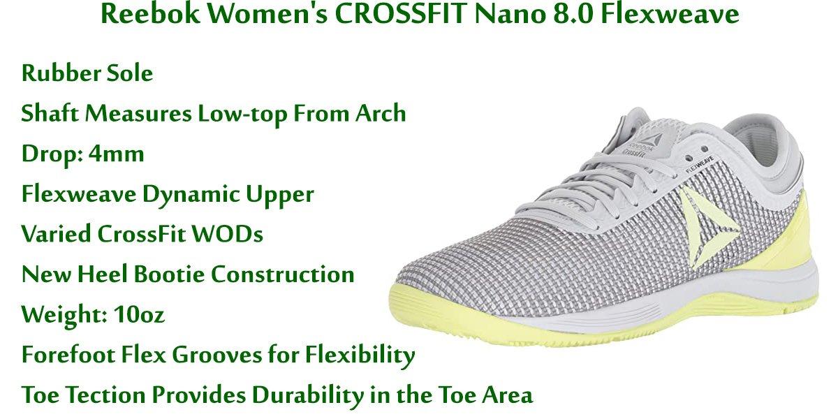 Reebok Women's Crossfit Nano 8.0 Flexweave