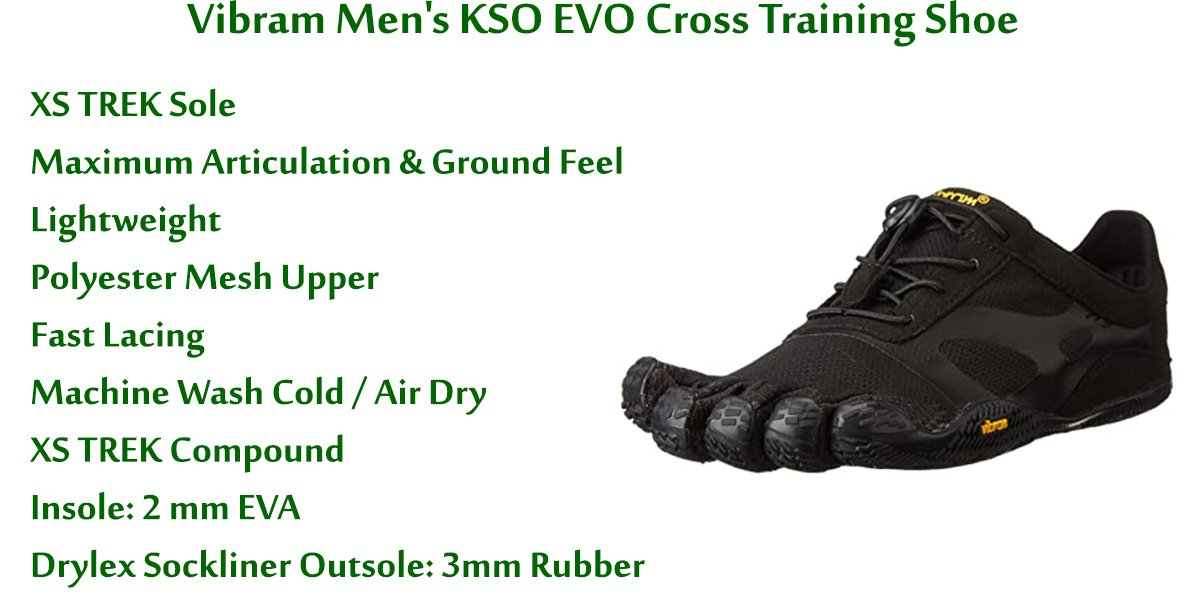 Vibram-Men's-KSO-EVO-Cross-Training-Shoe