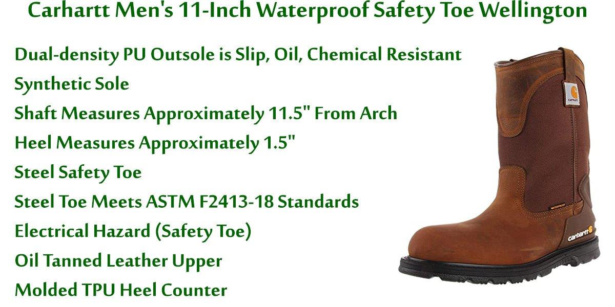 Carhartt-Men's-11-Inch-Waterproof-Safety-Toe-Wellington