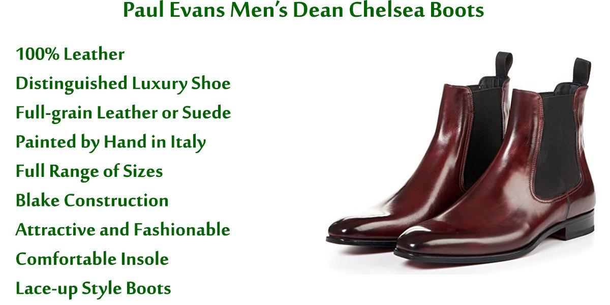 Paul-Evans-Men's-Dean-Chelsea-Boots