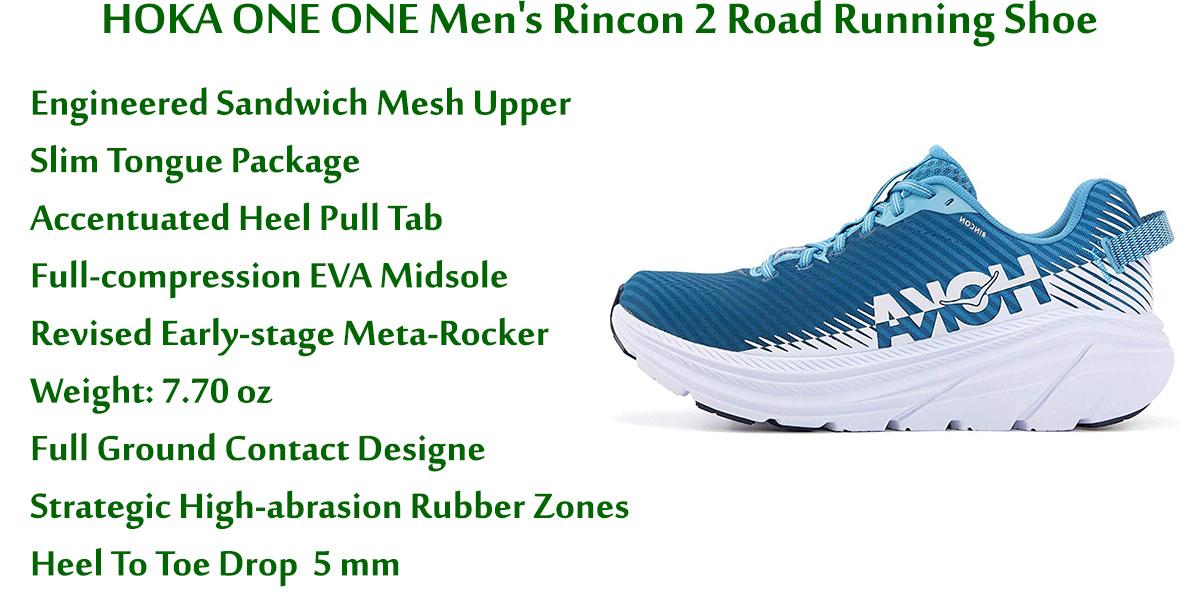 HOKA-ONE-ONE-Men's-Rincon-2-Road-Running-Shoe