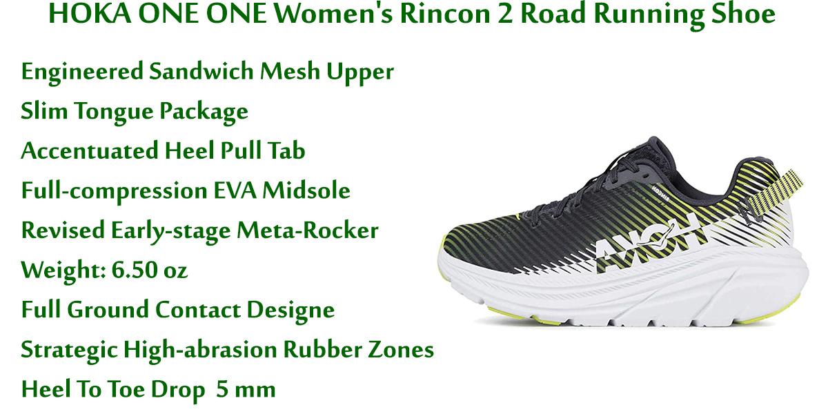 HOKA-ONE-ONE-Women's-Rincon-2-Road-Running-Shoe