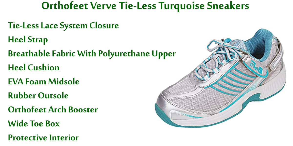 Orthofeet-Verve-Tie-Less-Turquoise-Sneakers