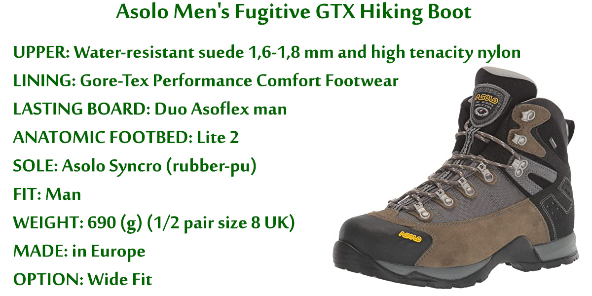 Asolo-Men's-Fugitive-GTX-Hiking-Boot