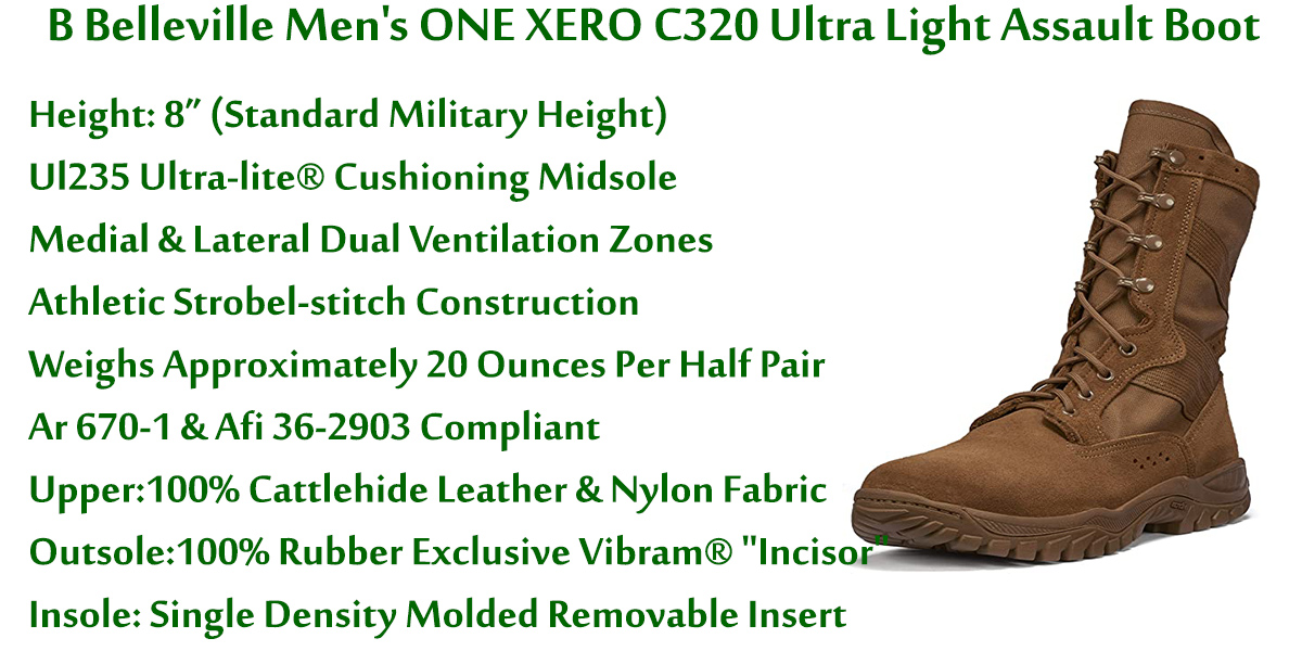 B-Belleville-Men's-ONE-XERO-C320-Ultra-Light-Assault-Boot