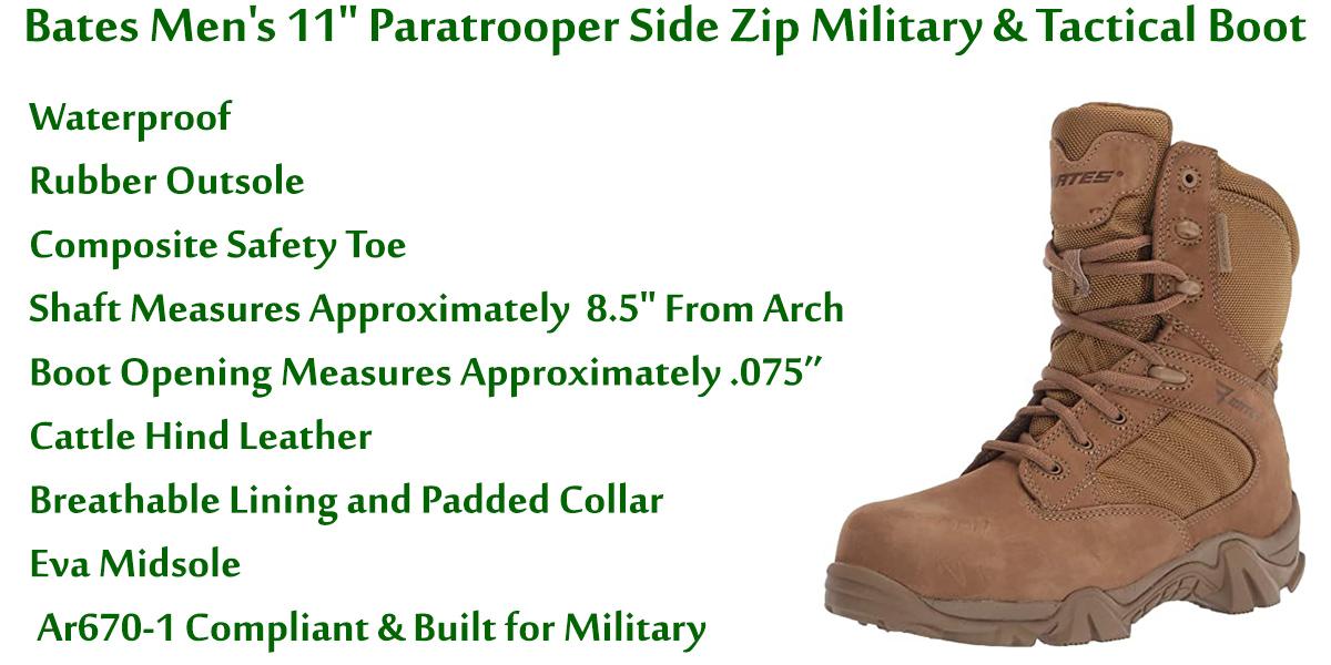 Bates-Men's-11-Inch-Paratrooper-Side-Zip-Military-&-Tactical-Boot