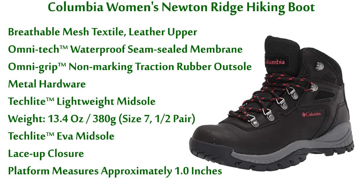 Columbia-Women's-Newton-Ridge-Hiking-Boot