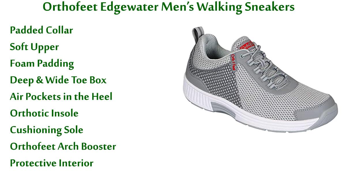 Orthofeet-Edgewater-Men's-Walking-Sneakers