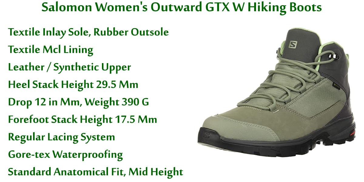 Salomon-Women's-Outward-GTX-W-Hiking-Boots
