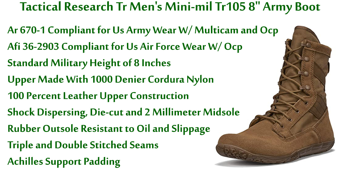 Tactical-Research-Tr-Men's-Mini-mil-Tr105-8-Inch-Army-Boot