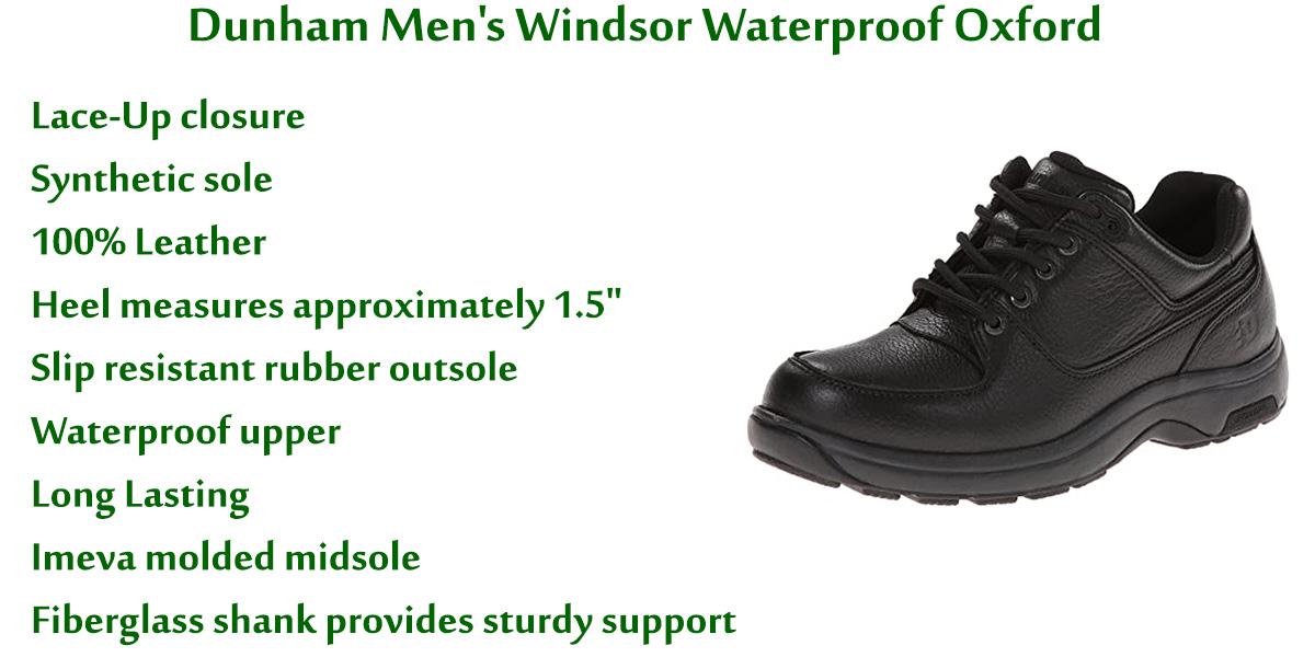 Dunham-Men's-Windsor-Waterproof-Oxford